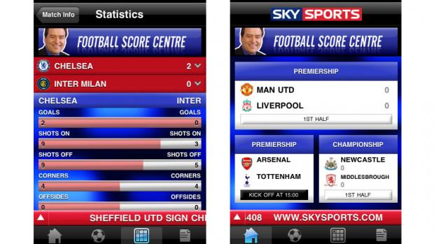 Top 10 Android Entertainment Apps Sky Sports Live Football SC