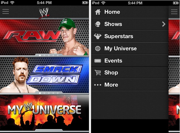 Top 10 Android Entertainment Apps WWE