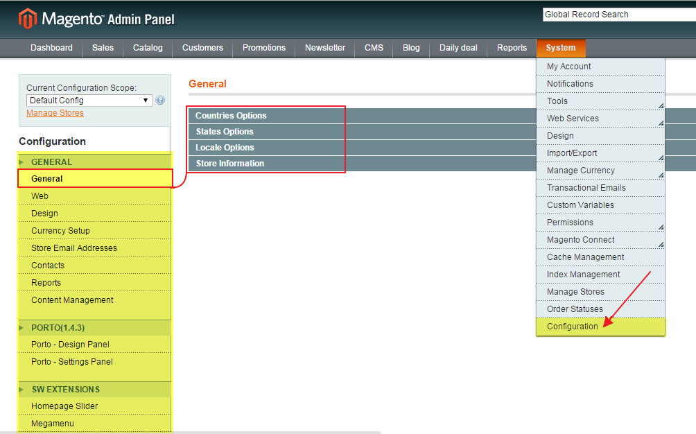 Magento Ecommerce Platform Review configuration