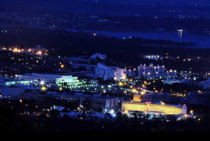 Best Vacation Spots in Pakistan Islamabad night view
