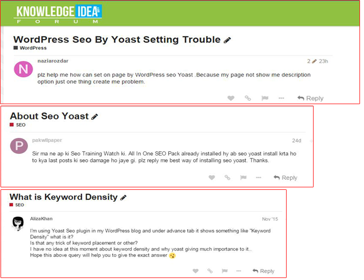 WordPress SEO By Yoast Guide For Beginners forum discussion