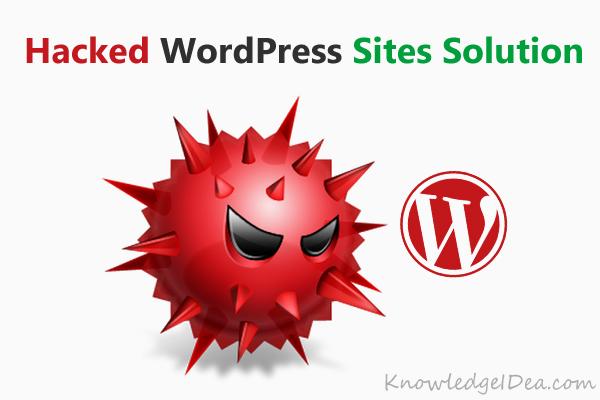 How to Tackle Hacked WordPress Websites