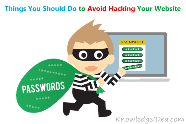 Things You Should Do to Avoid Hacking Your Website