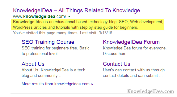 Role of Meta-Descriptions in SEO