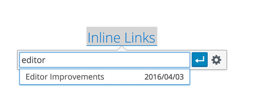 WordPress 4.5 Feature Review Inline Linking
