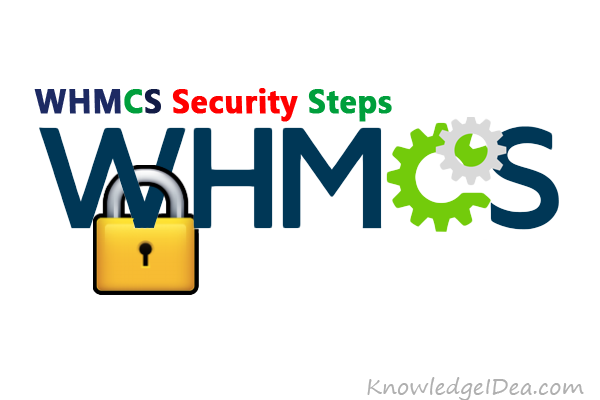 WHMCS Security Steps After Complete Installation
