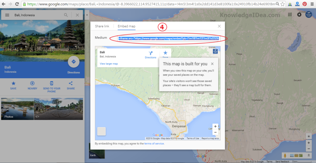 How to Embed Google Maps On Blog Image 2