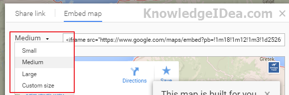 How to Embed Google Maps On Blog Image 3