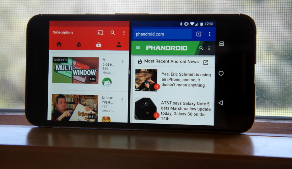 Android Nougat, What Google Changed Split Screen Mode
