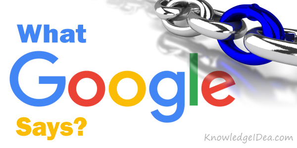 What Google Says About Link Building