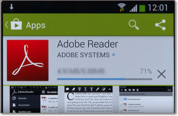 Step By Step Guide to Download Pdf Reader on Your Android Phone.