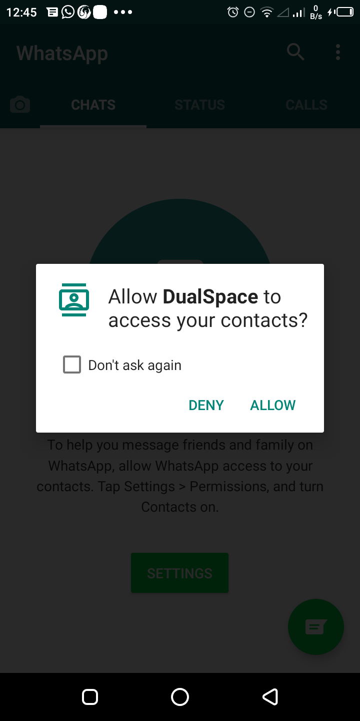 how to install two whatsApp in a mobile phone