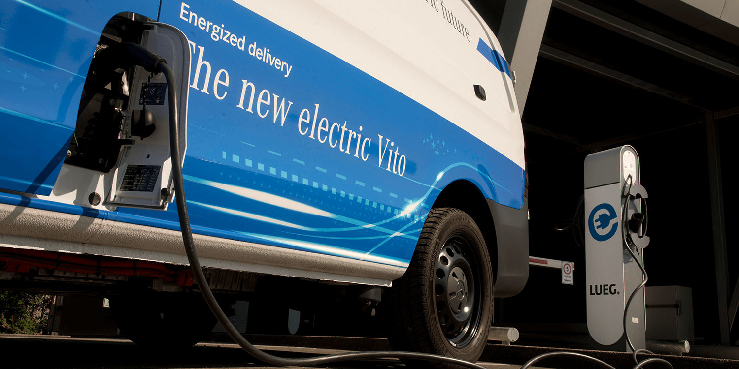 1#The eVito Van Travels Up to 421KM in One Full Charge